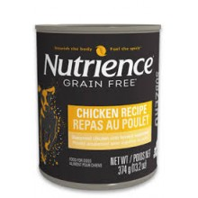 NUTRIENCE SUBZERO DOG LATA POLLO 374 GRS