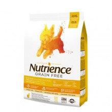 NUTRIENCE CANINO SMALL BREED  GRAIN FREE PAVO,POLLO ARENQUE 2.5KG