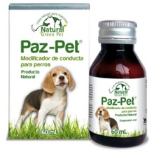 PAZ PET - TRANQUILIZANTE NATURAL PARA PERROS 60 ML