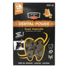 DENTAL POWER SNACK MASTICABLE PARA PERROS QCHEFS