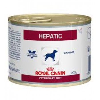 ROYAL CANIN HEPATIC CANINO LATA 200 GRS
