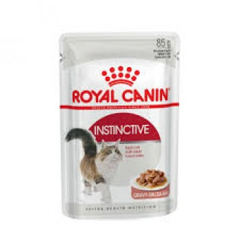 ROYAL CANIN ADULT INSTINCTIVE POUCH 85 GRS
