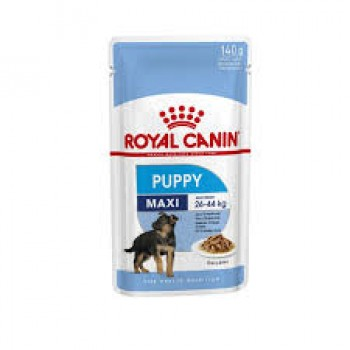 ROYAL CANIN CANINO POUCH PUPPY MAXI 140 GRS