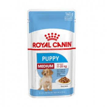 ROYAL CANIN CANINO POUCH PUPPY MEDIUM 140 GRS