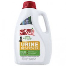 URINE DESTROYER PARA GATOS NATURES MIRACLES 3.78 Lts