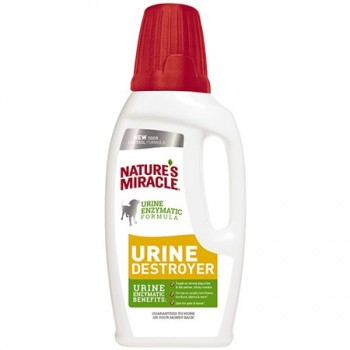 NATURES MIRACLE URINE DESTROYER PARA PERROS 946 ML
