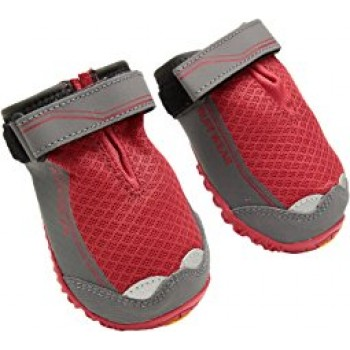 RUFFWEAR GRIP TREX DOG BOOTS RED 51 MM