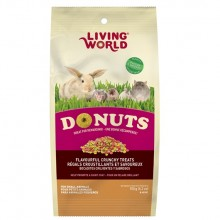 SNACK LIVING WORLD PEQUEÑOS ANIMALES DONUTS 150 GRS