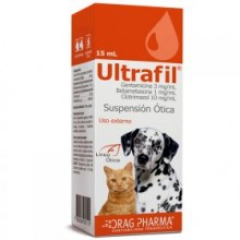 ULTRAFIL SUSPENSIÓN ÓTICA 15 ML