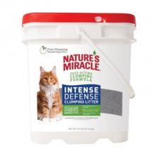 ARENA NATURES MIRACLE INTENSE DEFENSE CLUMPING LITTER 18 KG