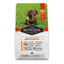 NUTRIQUE PUPPY TOY & MINI 3 KG