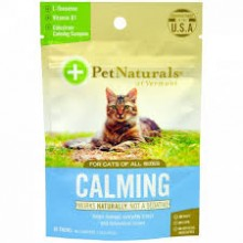 CALMING GATOS PET NATURALS 30 BOCADITOS