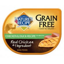 NATURES RECIPE POLLO Y PATO GRAIN FREE 78 GRS