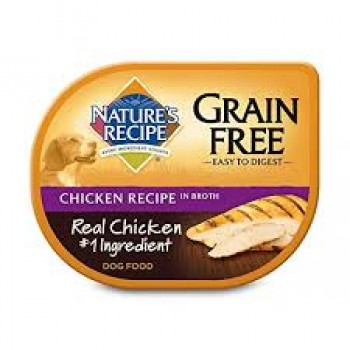 NATURES RECIPE POLLO GRAIN FREE 78 GRS